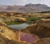 Imaggeo on Mondays: The colourful sinkhole clusters at Ghor Al-Haditha