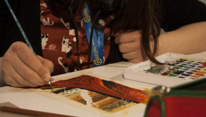 EGU General Assembly 2020: Apply to be our next artist in residence!
