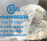 #shareEGU20: top 10 tips for participants to get the most out of Sharing Geoscience Online