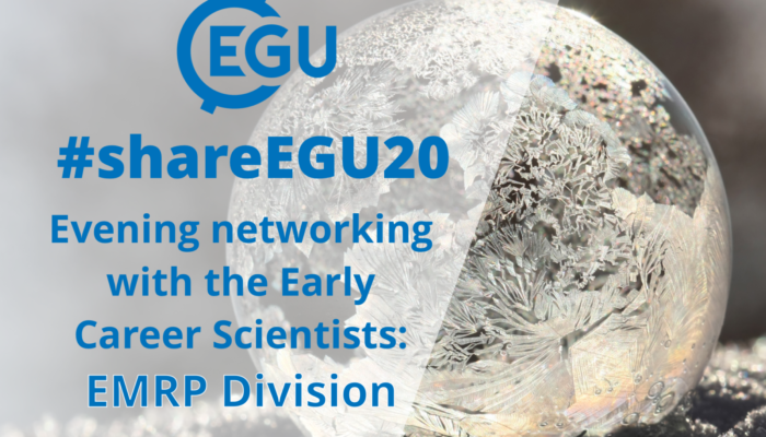 #shareEGU20: join our EMRP Division Early Career Scientists for a networking evening!