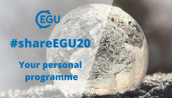 #shareEGU20: planning your week of digital interaction!