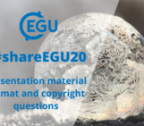 #shareEGU20: presentation material format and copyright questions