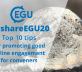 #shareEGU20: Top 10 tips for promoting good online engagement for conveners