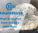 #shareEGU20: what to expect from the live text chats