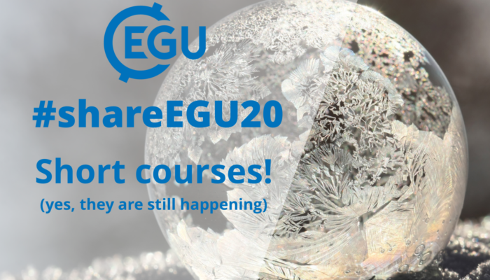 #shareEGU20: a guide to the short courses!