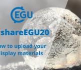 #shareEGU20: uploading your materials, a webinar and walk-through