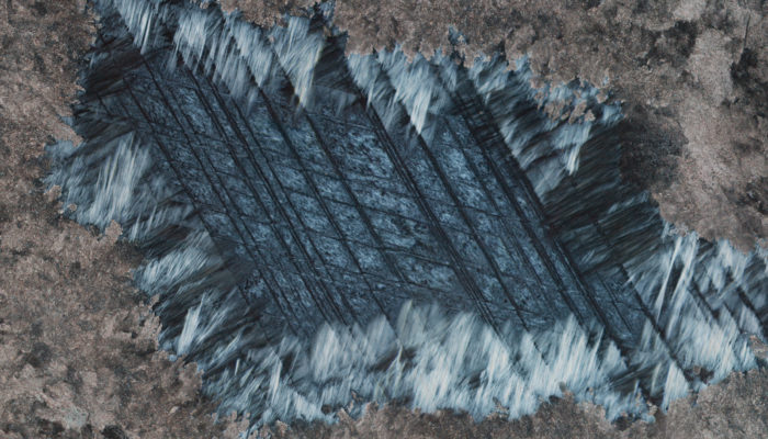 Imaggeo on Mondays: The Grid – A serpentine pseudomorph after carbonate