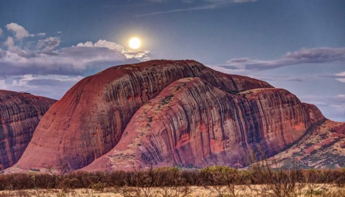 Imaggeo on Mondays: Moonrise at Kata Tjuta