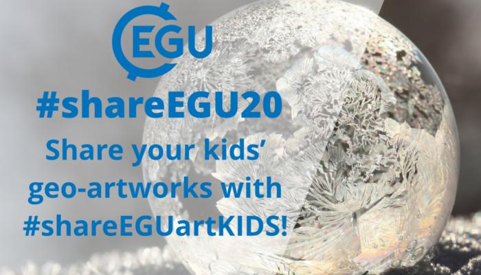 #shareEGU20: getting creative with the Kids Art activity!