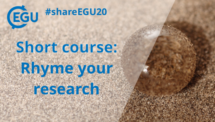 #shareEGU20: Rhyme your research!!