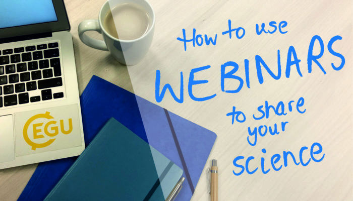 GeoPolicy: How to use webinars to share your science with a wider audience!