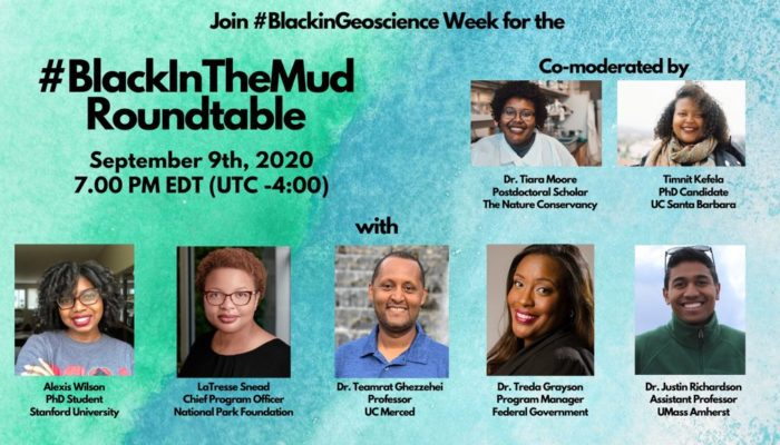 GeoTalk: #BlackInTheMud panellists reflect on Black in Geoscience Week 2020
