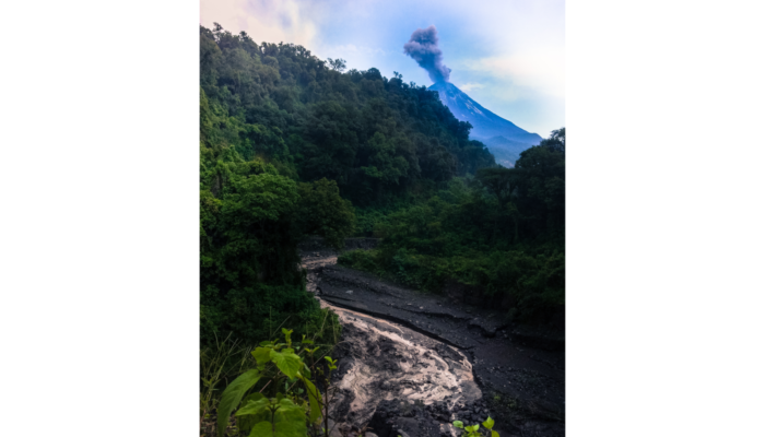 Imaggeo On Monday: Lahar in the jungle, Mexico