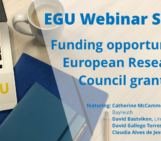 GeoPolicy: European Research Council funding opportunities – Your questions answered!