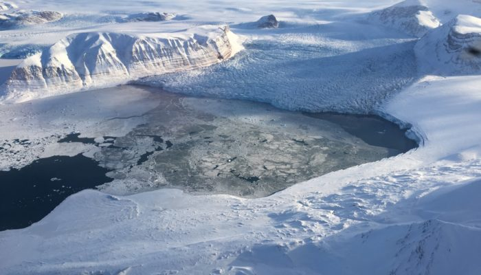 Imaggeo On Monday: Konsfjorden and Kronebreen glacier