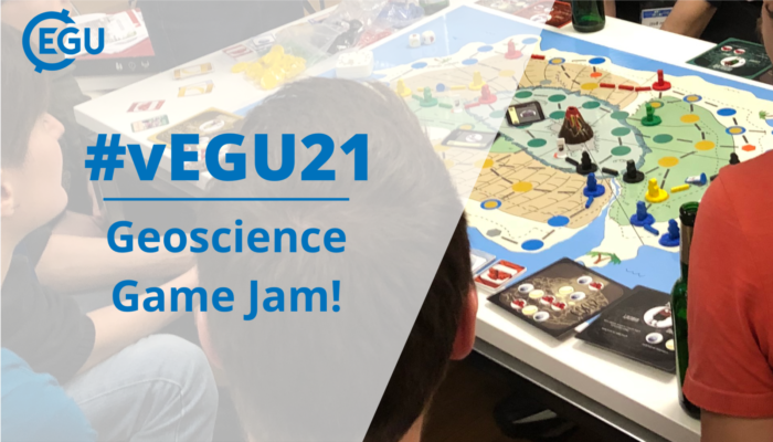 vEGU21: the EGU Game Jam has arrived!