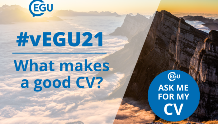 vEGU21: What makes a good CV?
