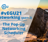 How to vEGU – Networking (part 2): the pop-up networking scheduler!