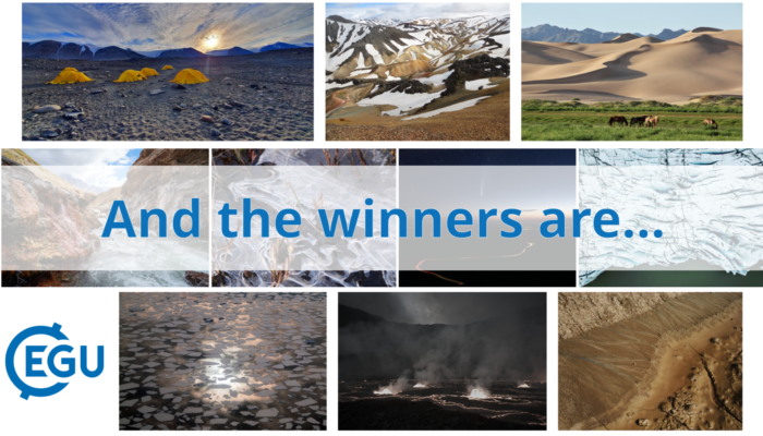 Announcing the winners of the EGU21 Photo Competition!