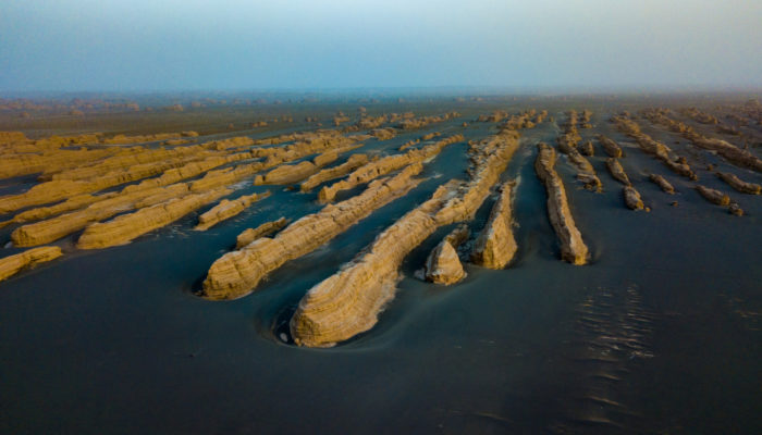 Imaggeo On Monday: Yardangs in the Gobi desert