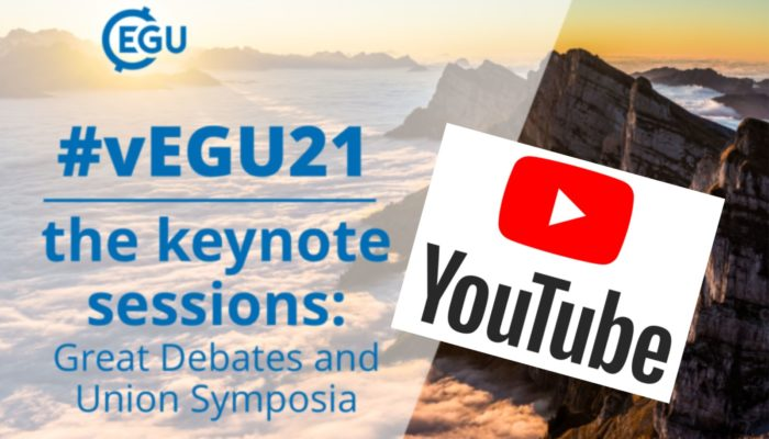 Where can I watch the vEGU21 keynote sessions?