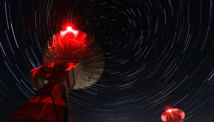 Imaggeo On Monday: Onsala Twin Telescopes