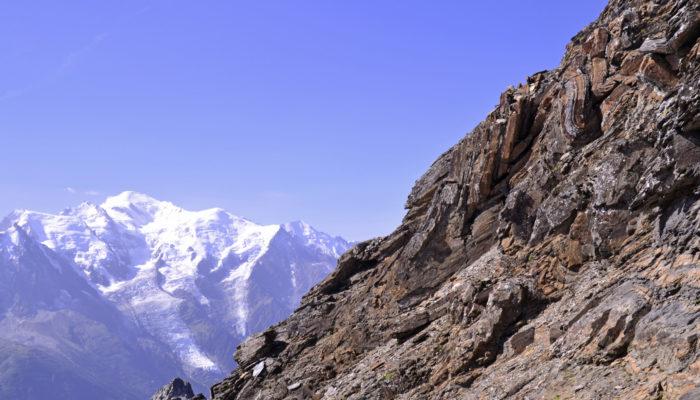 Imaggeo On Monday: Alps highest peak meets folded sea floor