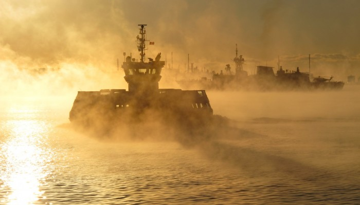 Imaggeo on Mondays: Icy seasmoke