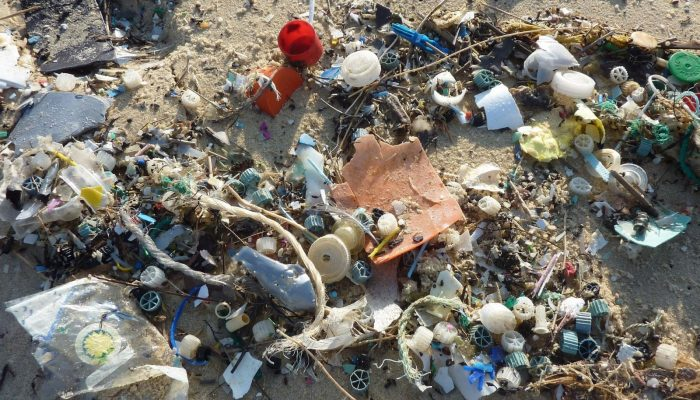GeoTalk: Investigating the transport of plastic pollution in the oceans