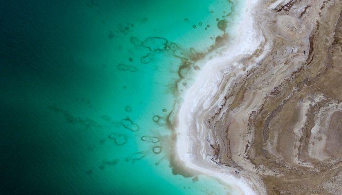 Imaggeo on Mondays: Salt shoreline of the Dead Sea