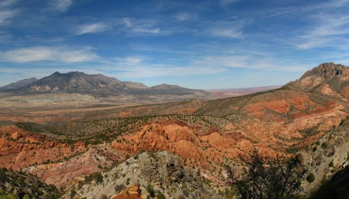 Imaggeo on Mondays: The Henry Mountains, living textbook of modern geomorphology