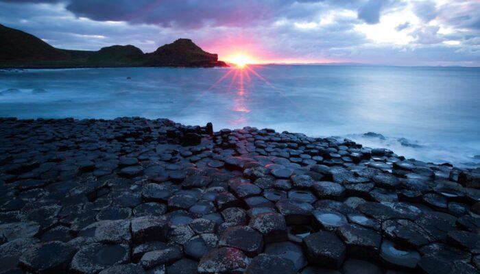 Imaggeo on Mondays: Sunset on the Giant's Causeway