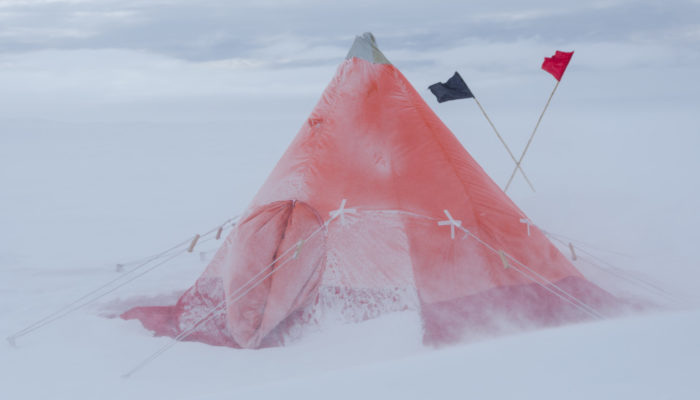Imaggeo on Monday: Time-proven shelter in drifting snow