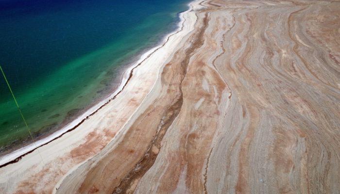 Imaggeo On Monday: Geoscientific selfie at the Dead Sea