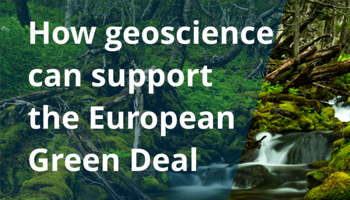 GeoPolicy: How geoscience can support the European Green Deal