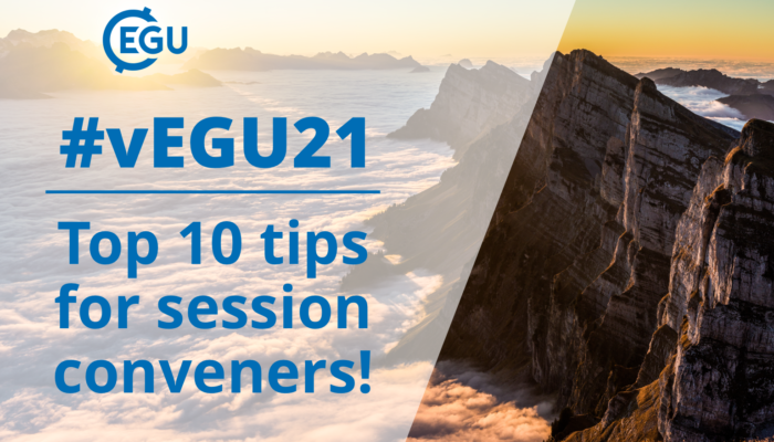 How to vEGU: Top 10 tips for promoting good online engagement for conveners
