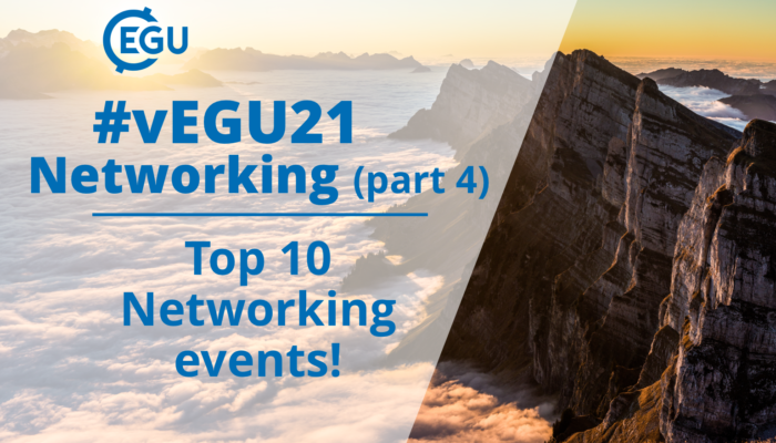 How to vEGU – Networking (part 4): Top 10 Networking events!