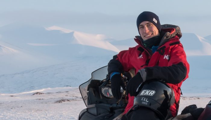 GeoTalk: Meet Joshua Dreyer, planetary scientist and the Planetary and Solar System Sciences Division's Early Career Scientist Representative!
