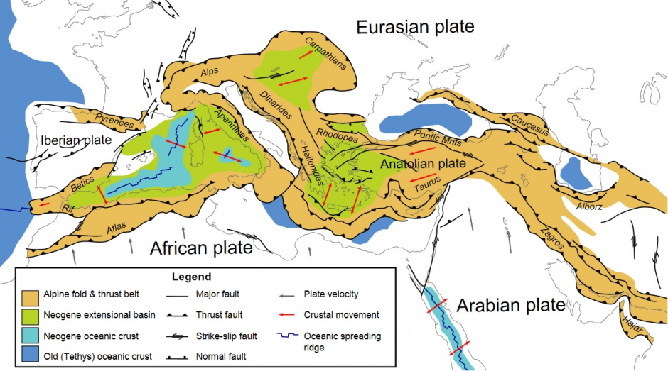 Geolog Tectonics And Structural Geology