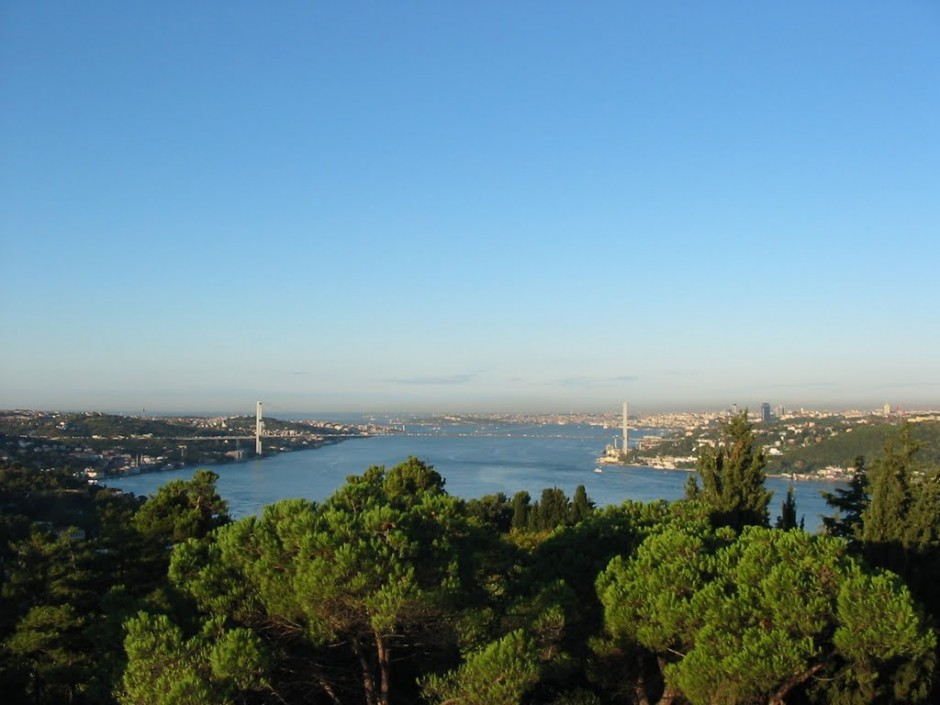 Looking out over the Bosphorus from the conference location – great science and a great view! (Credit: Ali Ozgun Konca)