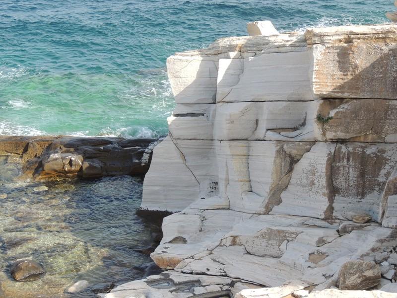 Marble Outcrops. (Credit: Konstantinos Kourtidis via imaggeo.egu.eu)