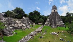 Tikal Mayan ruins in Guatemala. Credit - chensiyuan, WIkimedia Commons.