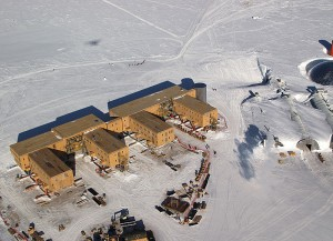 Amundsen-Scott South Pole Station. Source - U.S. Antarctic Program, National Science Foundation.