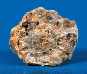 Bauxite - Source: Wikimedia Commons.