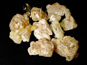 Frankincense from Somalia - Source: Snotch, Wikimedia Commons.