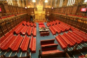 House of Lords Chamber. Source - Wikimedia Commons