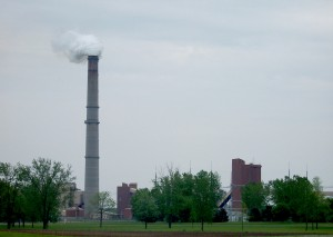 The coal-fired Kintigh Generating Station in Somerset, New York - Source: Matthew D. Wilson, Wikimedia Commons.