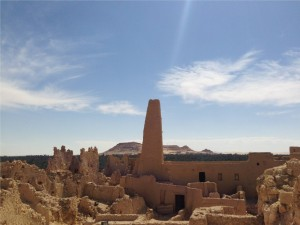 View of Siwa Landscape from the Temple of Amun - Authors own image.