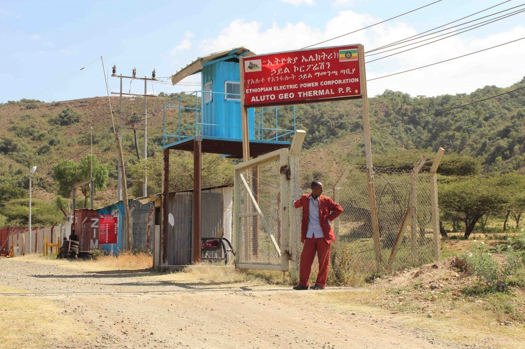 Alutu Langano geothermal power plant. Credit: Elspeth Robertson