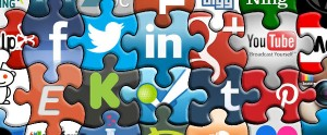 Use social media as a source of information. ( SMM-Jigsaw-Banner, by greyweed pn Flickr)